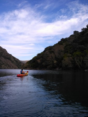 Province of Ourense, İspanya: kayak río Sil