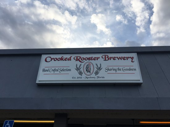 Macclenny, Флорида: The Crooked Rooster Brewery