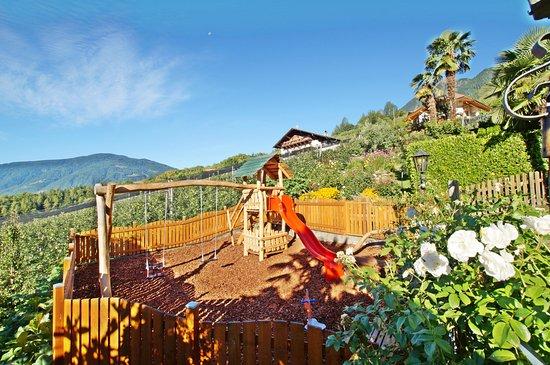 Kuens, Italia: Der Spielplatz - Parco giochi