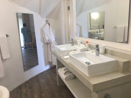Salle de bain Chambre Pavillon Plage - Bild von La Pirogue ...