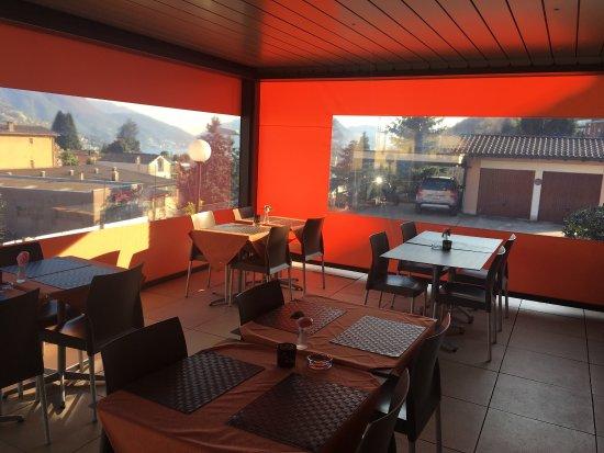 Terrazza coperta - Bild von Bar Ristorante Pizzeria Stazione ...