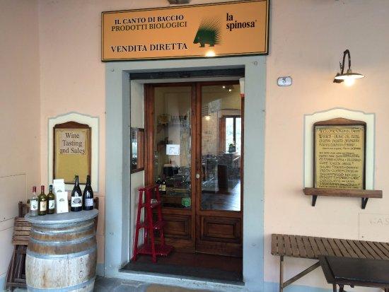 Barberino Val d'Elsa, Italia: ingresso enoteca