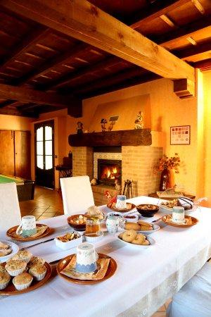 Castelnuovo Calcea, Италия: le nostre colazioni