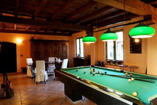 Castelnuovo Calcea, อิตาลี: sala biliardo