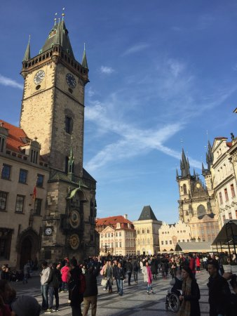 Old Town Hall and Astronomical Clock: Astronomical Clock Tower