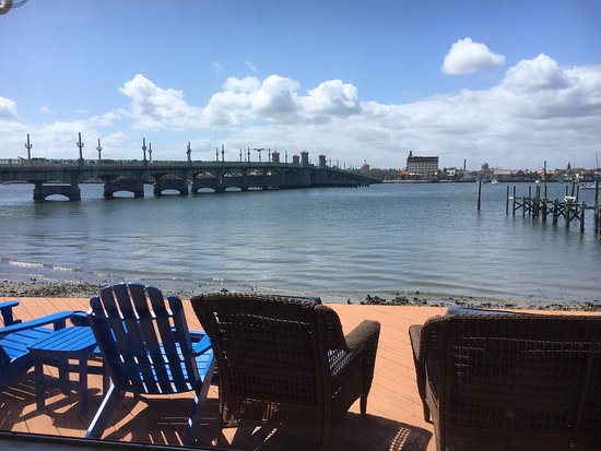 Edgewater Inn: View from the back deck