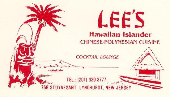 Lyndhurst, Nueva Jersey: Business card