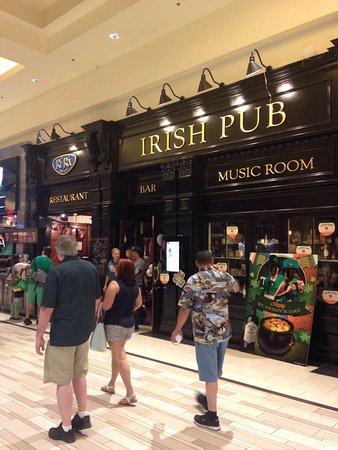 irish bar casino vegas strip