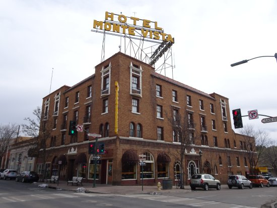 Hotel Monte Vista: On the corner of Aspen and San Franicsco streets.