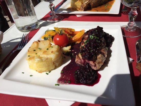 Le Lachenal: Schönes Restaurant, gutes Essen. Sehr zu empfehlen!