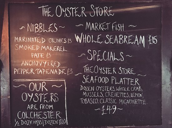 Cowes, UK: The Oyster Store