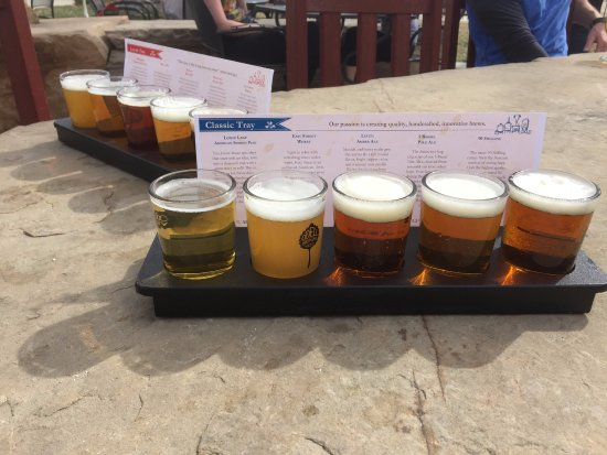 Fort Collins, CO: Flights of Tastyness