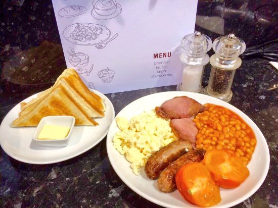 Morpeth, UK: All day breakfast