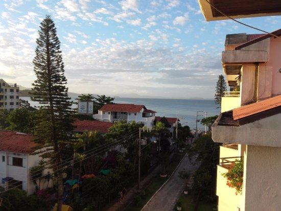 Paraiso Palace Hotel II e III : Vista del balcon de la habitacion