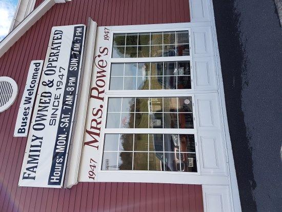 Staunton, Wirginia: Mrs. Rowe's