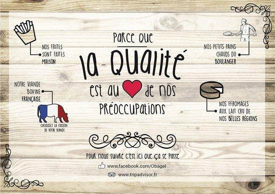 Pacy-sur-Eure, Francia: La qualité est au ❤ de nos préoccupations