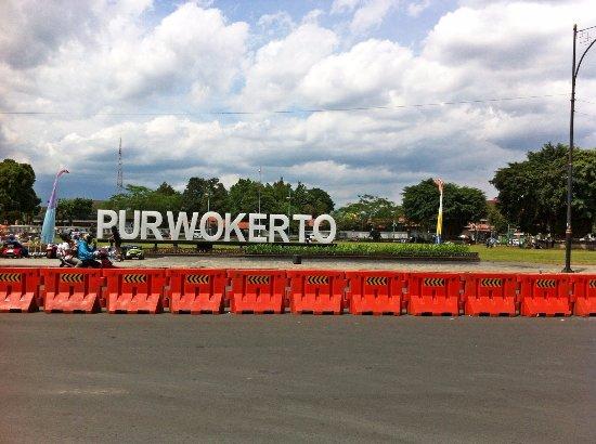 Air Mancur Alun-Alun Purwokerto: Purwokerto