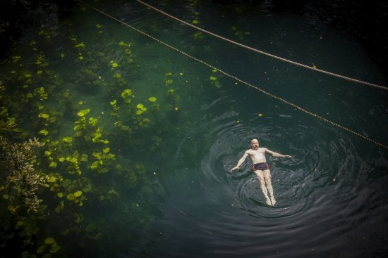 Cenote Verde Lucero: When everyone else has gone, it can feel like quite a magical place.