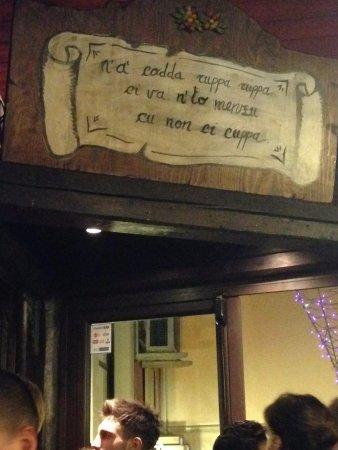 Nicolosi, إيطاليا: Antichi Proverbi