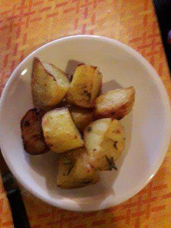 Ristorante Il Granaio: Patate arrosto