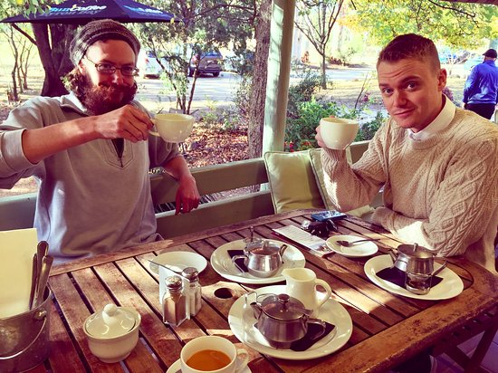 Megalong Valley, Australia: It's Tea Time!