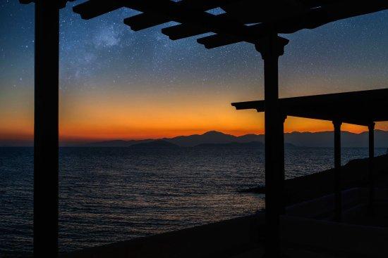 Donousa, Yunanistan: Night photo