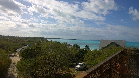 Shannas Cove Resort: Desde terraza del comedor