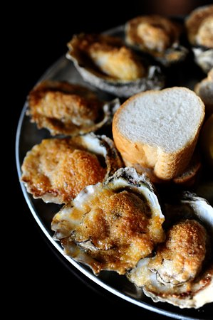 League City, TX: Baked Oysters on the 1/2 Shell