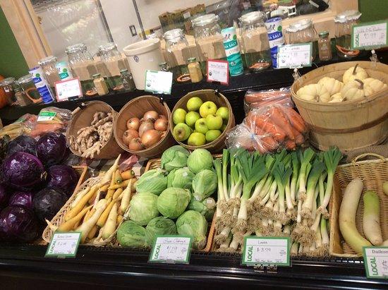 Marquette, MI: beautiful local produce