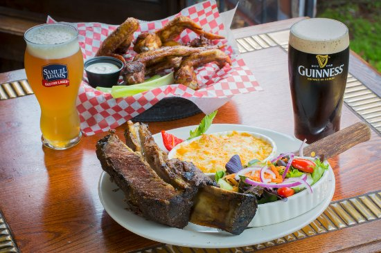 West Orange, NJ: Famous Smoked Wings and Beef Short Rib with Mac and Cheese and Salad. Add a Guiness or Sam Adams