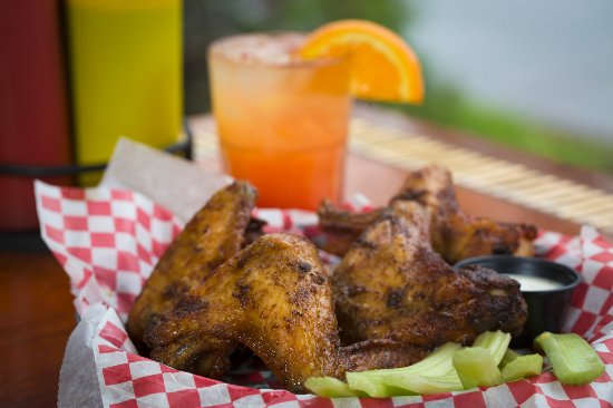 West Orange, NJ: Smoked Wings with a Ciroc Punch from the Bar