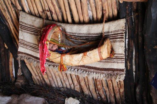 Sámi Siida - Márkanbáiki : Baby's crib