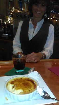 Νιούπορτ, Βερμόντ: Baileys Creme Creme Brulee Wonderful end to a gret meal