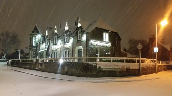 Corriegarth Hotel: Cold & Frosty in winter
