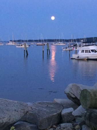 Ripples Inn at the Harbor: Steps away from Rockland Harbor Park