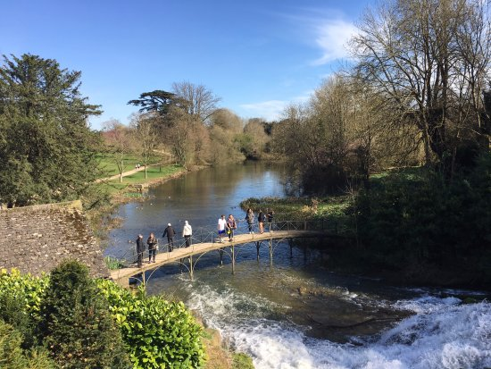 Blenheim Palace: an easy stroll from posh building to 'wilderness'