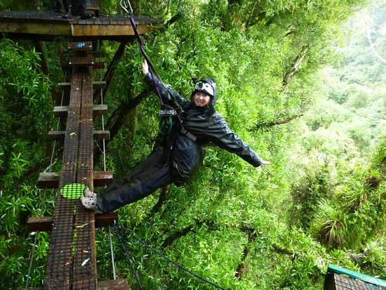 Rotorua Canopy Tours: On the edge!