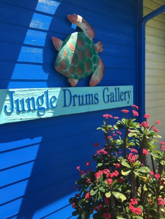 Jungle Drums Gallery on Captiva Island, FL