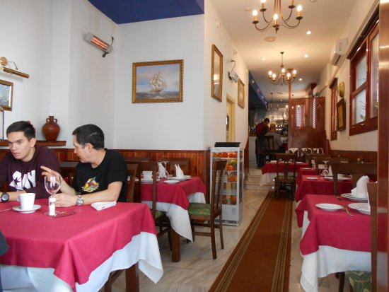 Restaurante El Carpathia: Interior of El Carpathia