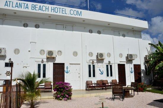 Atlanta Beach Hotel : Tuin