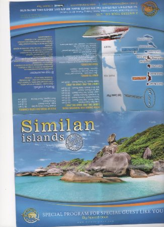 Phang Nga, Thailand: 2 Sisters leaflet