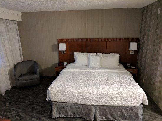 โคลัมเบีย, แมรี่แลนด์: King Suite