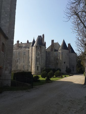 Meung-sur-Loire, France: The Castle from the entrance