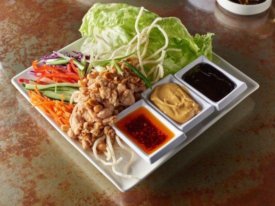 Lakeside Inn and Casino: Lettuce Chicken Wraps
