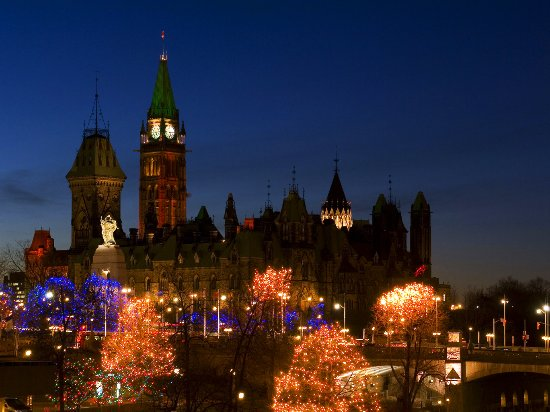 Christmas Lights Across Canada - Ottawa Tourism