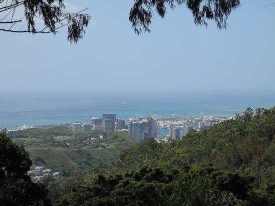 Tantalus Lookout Puu Ualakaa State Park: Waikiki View