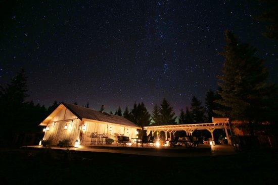 Siwash Lake Wilderness Resort: The Pavilion at Siwash Lake