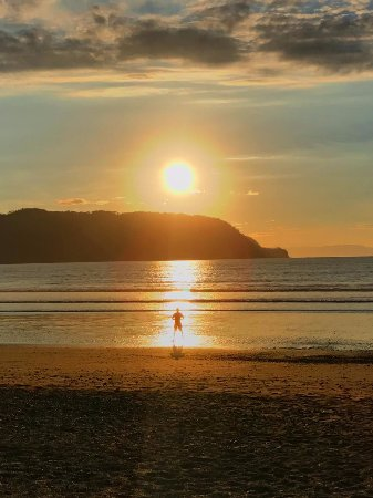 Tambor, Costa Rica: Awesome sunrise
