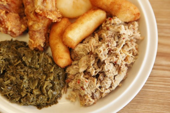 Rocky Mount, Kuzey Carolina: plate of food