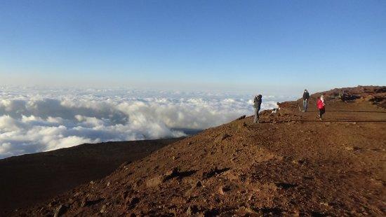 Kula, HI: Haleakala just before sunset